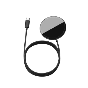 شارژر مگنتی اورجینال بیسوس Baseus Simple mini Magnetic Wireless Charger BS-W522 WXJK-H03